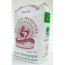 Farine de blé bio Type 80 1 kg
