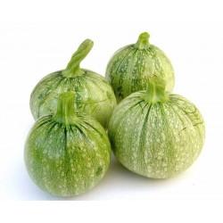 Recette Courgettes rondes de Nice farcies aux légumes de saison