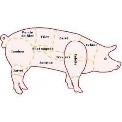 Sauté porc bio env 1.078 kg
