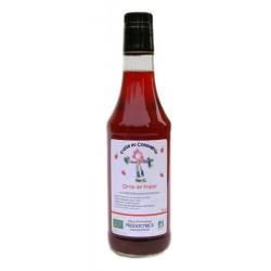 Sirop de fraise bio 50 cl