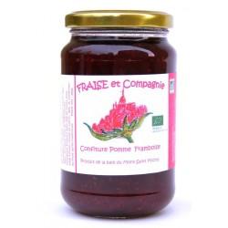 Confiture Pomme Framboise 380 g bio Fraise et Compagnie