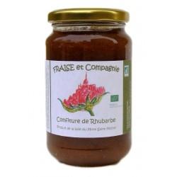 Confiture Rhubarbe 380 g bio Fraise et Compagnie Bio