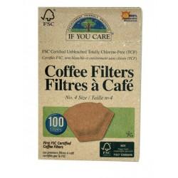 Filtre Café N°4 (x100) If You Care
