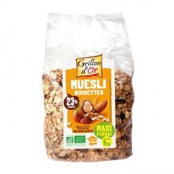 Muesli familial Raisins Noisettes bio 1 kg