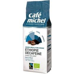 Café Ethiopie décaféiné moulu bio 250 g