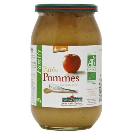 Purée pommes bio Family 915 g Coteaux Nantais