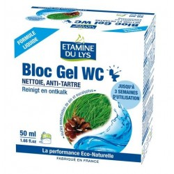 Bloc gel WC naturel