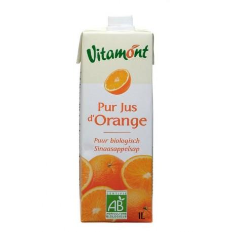 Jus d'orange Tetra bio 1 l Vitamont