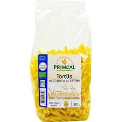 Tortils citron safran bio 250 g Priméal