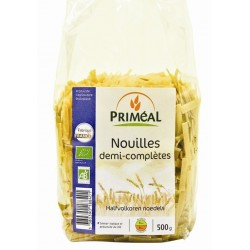 Nouilles demi-complètes bio 500 g Priméal