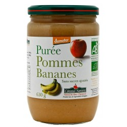 Purée pomme-banane bio 630 g Coteaux Nantais