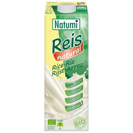 Lait de riz nature bio 1 l Natumi