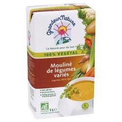 Mouliné de légumes variés bio 1 l