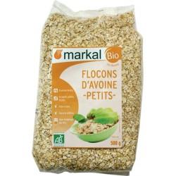 Flocons d'avoine petits bio 500 g Markal