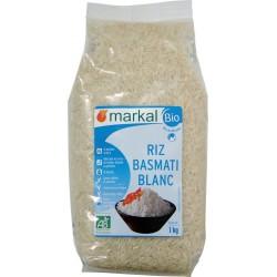 Riz basmati blanc bio 1 kg Markal