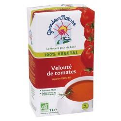Velouté de tomates bio 1 l Grandeur Nature