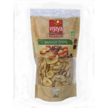 Banane chips bio 250 g Vijaya