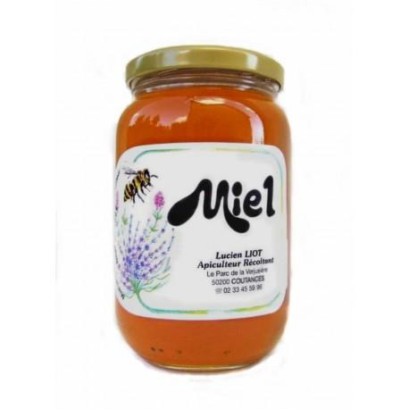 Miel liquide toutes fleurs pot en verre récolte 2017 500 g