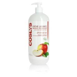 Crème lavante mains douceur 1l à la pomme bio