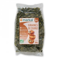 Graines de courge bio 250g Markal