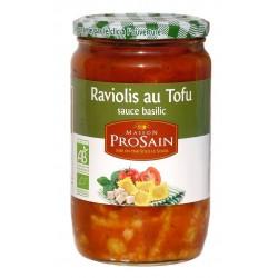 Raviolis Tofu sauce basilic bio 680 g