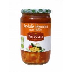 Raviolis légumes sauce toscane bio 680 g
