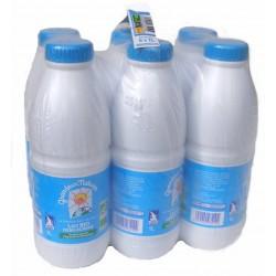 Pack 6 x lait demi-écrémé bio 1l