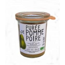 Petit pot bébé purée de pomme-poire bio 130g dès 4 mois