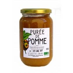Purée de pommes bio 360 g Le Gout des Champs