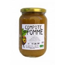 Compote de pomme bio 360 g Le Gout Des Champs