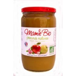 Purée pommes 680g Mamie Bio