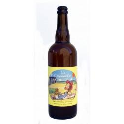 Bière blanche bio La Caennette 75cl médaille d'Or agricole de Par