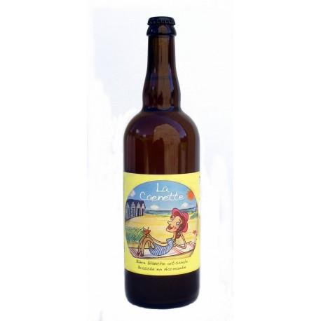 Bière blanche bio La Caennette 75 cl