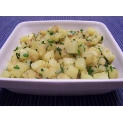 Recette de Poêlée primeur pommes de terre-navets persillée