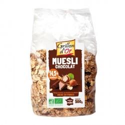 Muesli chocolat bio 500g Grillon d'or