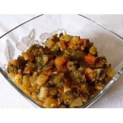 Recette Salade chaude de bettes et carottes