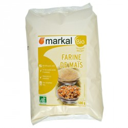 Farine de maïs bio 500g Markal