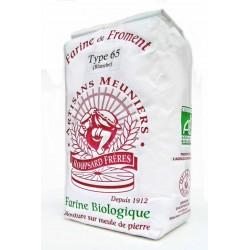 Farine de blé bio Type 65 1 kg