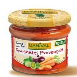 Sauce spaghetti provencale bio 210g Danival