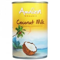 Lait de coco bio 400ml Amazin