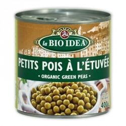 Petits pois à l'étuvée bio 400 g Bio Idea