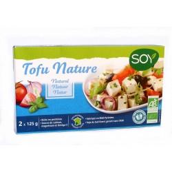 Tofu nature longue conservation bio 2x125g