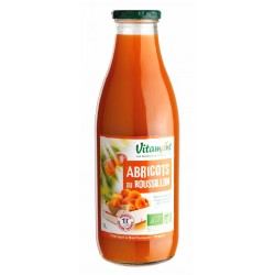 Nectar d'abricots du Roussillon 1l bio