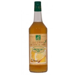 Sirop Citron bio 1 litre Meneau