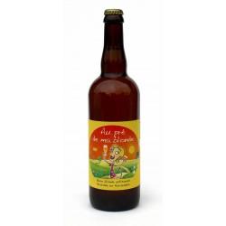 Bière bio au prè de ma blonde 75 cl