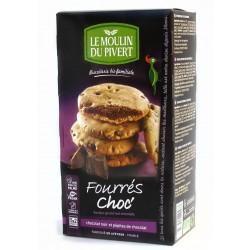 Cookies bio Fourré Choc 175 g