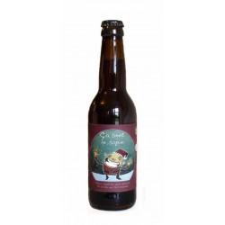 Bière d'hiver bio 33cl ça sent le sapin