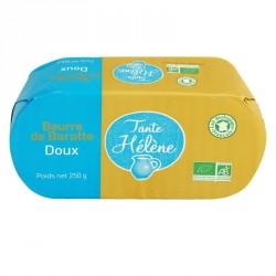 Beurre de baratte doux bio 250g Tante Hélène