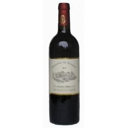 Vin rouge Cuvée Chris 2012 75 cl bio