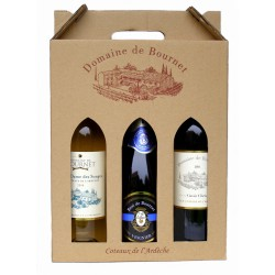 Coffret 3 vins Domaine de Bournet (Brut)